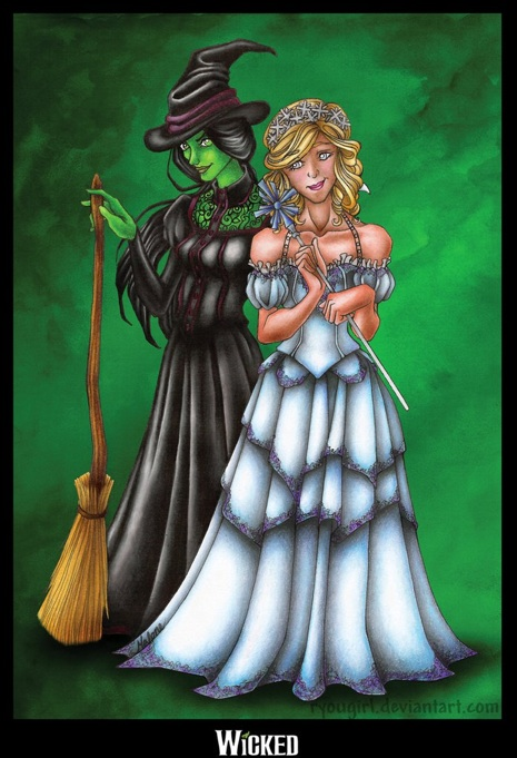 wicked Musical artwork