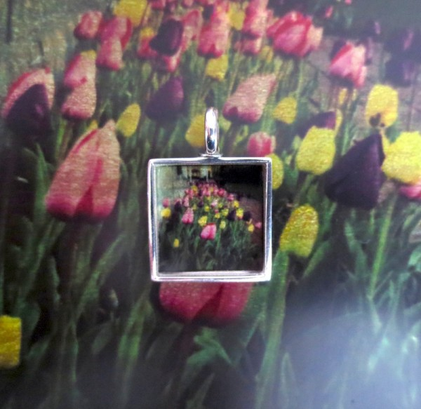 Necklace with Instagram Picture