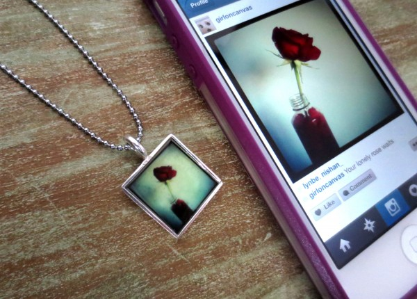 Instagram Photo Necklace