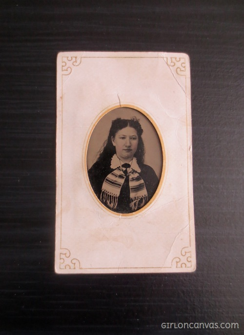 Tintype of Jennie