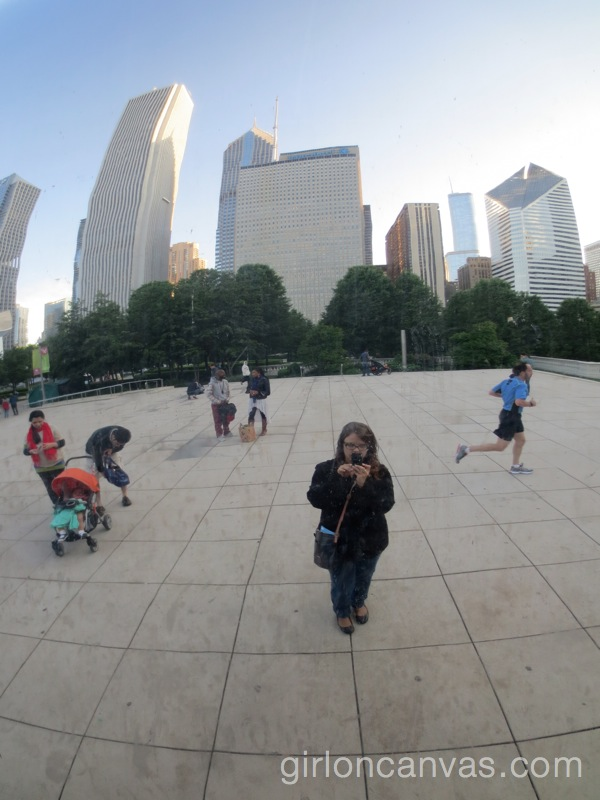 Cloud Gate Selfie 2