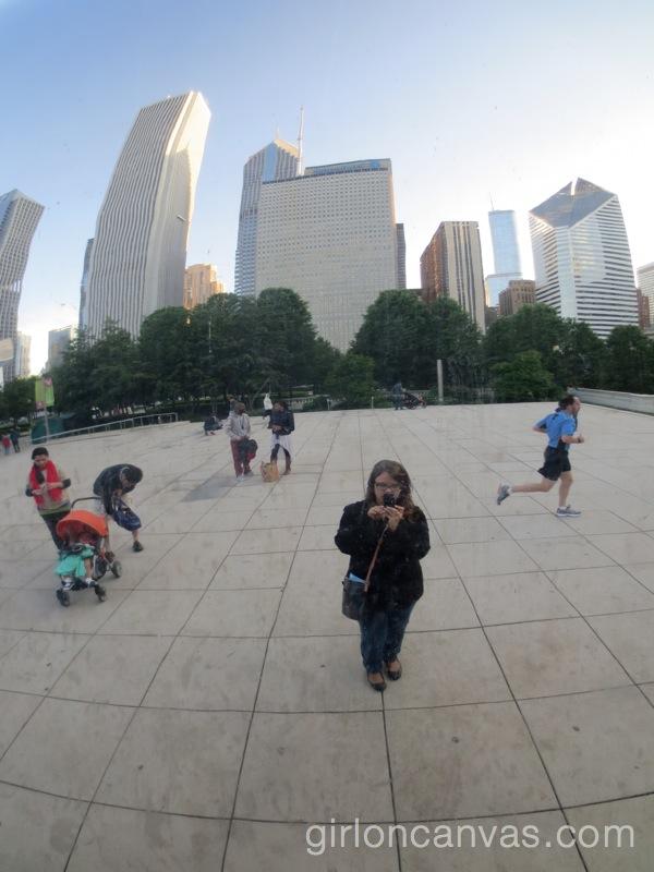 Cloud Gate Selfie 2
