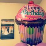 Birthday balloon from Mom
