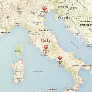 7 days til Italy ??